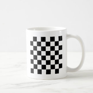 Checker Pattern Coffee Mug
