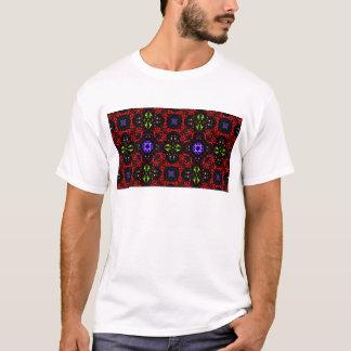 Checkered design Kaleidoscope T-Shirt