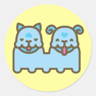 Chee Chaa Round Sticker