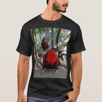Cheeky Face Rainbow Lorikeet, T-Shirt