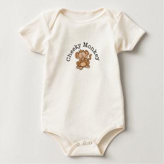 Cheeky Monkey Baby Bodysuits