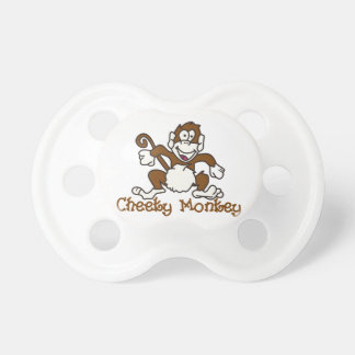 Cheeky Monkey Baby Pacifiers