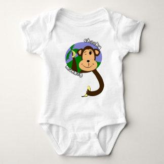 Cheeky Monkey Baby Tee