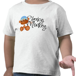 Cheeky Monkey - Boy Tshirts and Gifts