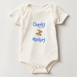 Cheeky Monkey Rompers