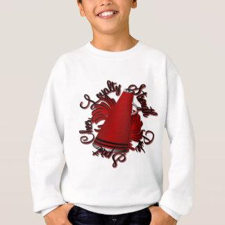 Cheer Black and Red Qualities Sweatshirt