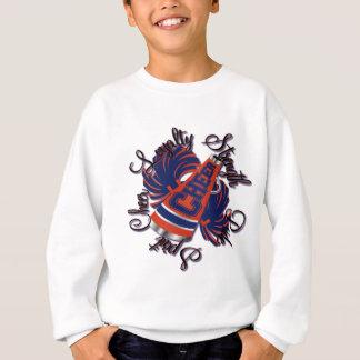 Cheer Blue and Orange Qualities Sweatshirt