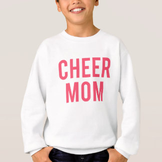 Cheer Mom Print Sweatshirt