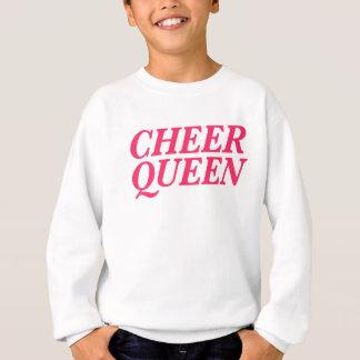 Cheer Queen Print Sweatshirt