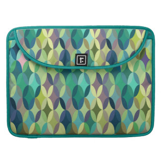 Cheerful colorful vintage retro abstract sleeve for MacBooks