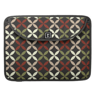 Cheerful colorful vintage retro abstract sleeves for MacBooks