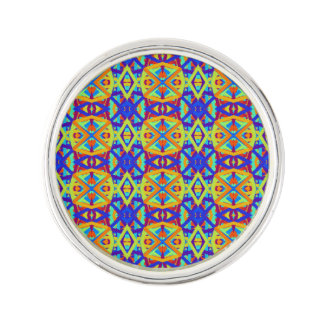 Cheerful Fun Pattern Lapel Pin