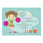 Cheerleader #1 Invitation