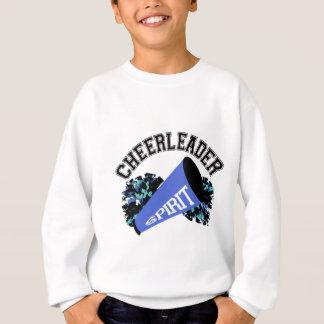 Cheerleader Blue Sweatshirt