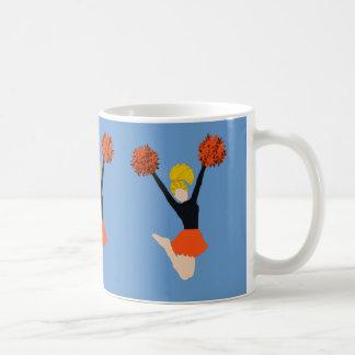 Cheerleader Orange and Black Mug