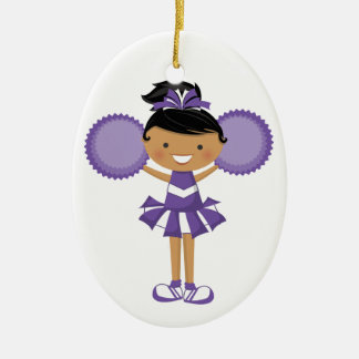 Cheerleader - SRF Christmas Ornament