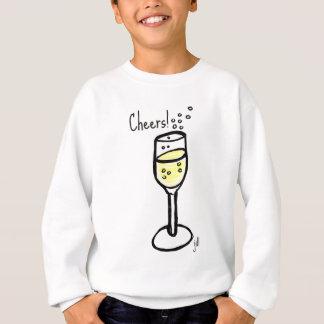 Cheers! Champagne sketch by jill Sweatshirt