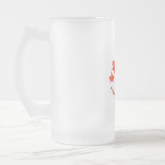 Cheers Diversity In Press Frosted Glass Beer Mug