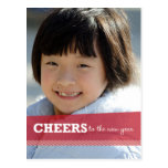 Cheers To The New Year Postcard