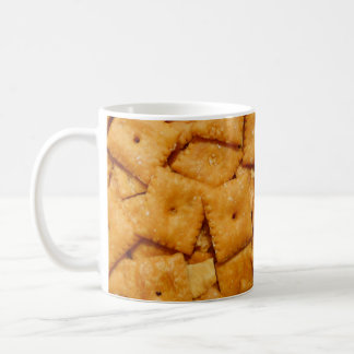Cheese Crackers Basic White Mug