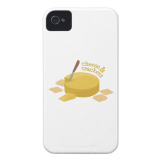 Cheese & Crackers iPhone 4 Case-Mate Case