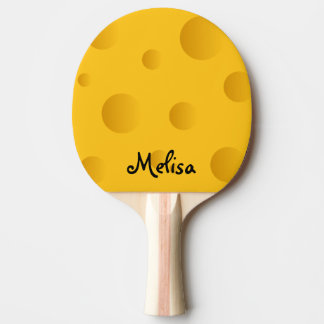 Cheese design ping pong paddle for table tennis