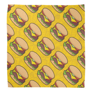 Cheeseburger Bandana