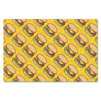 Cheeseburger Tissue Paper