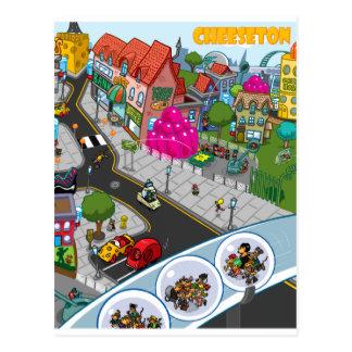 Cheeseton Postcard
