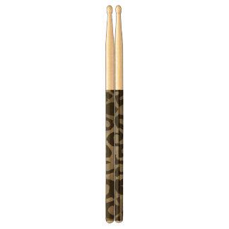Cheetah Camouflage Drumsticks