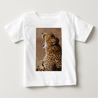 Cheetah could scare a lion baby T-Shirt
