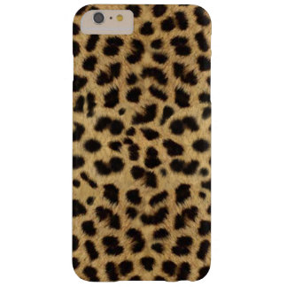 CHEETAH FUR PHOTO PRINTED BARELY THERE iPhone 6 PLUS CASE