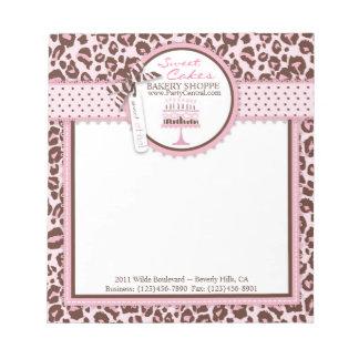 Cheetah Girl Business Mini Notepad