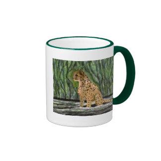 Cheetah habitat ringer mug