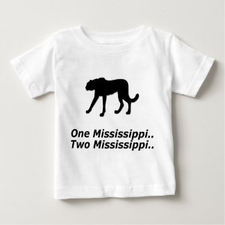 Cheetah One Mississippi Baby T-Shirt
