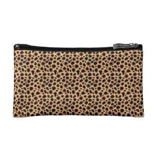 Cheetah Skin Style Fashion Bag Makeup Bags