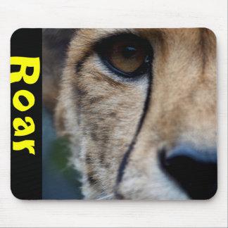 Cheetah watching mouse pad