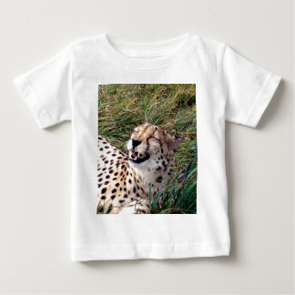 Cheetah With The Biggest Smile On Her Face, Baby T-Shirt
