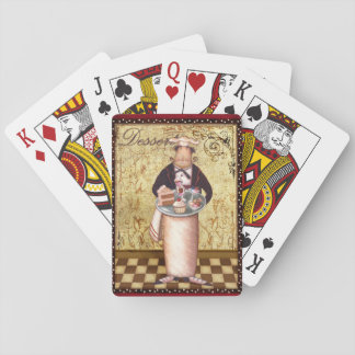 Chef Dessert Playing Cards