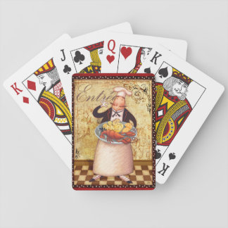 Chef Entrée Playing Cards