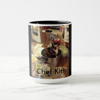 Chef Kitty Mug
