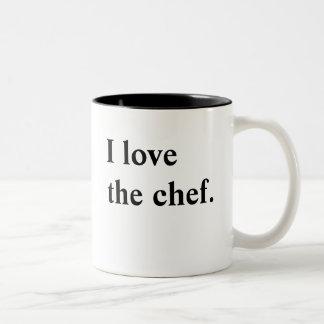 Chef love mug