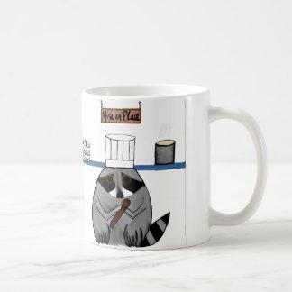 Chef Raccoon mug