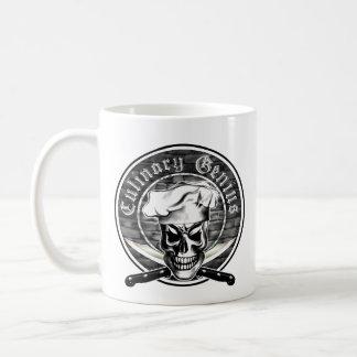 Chef Skull 3 Coffee Mug