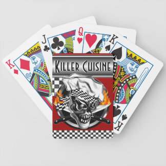 Chef Skull 5 Bicycle Playing Cards