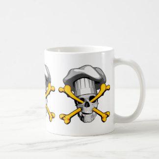 Chef skull and Crossbones Coffee Mug
