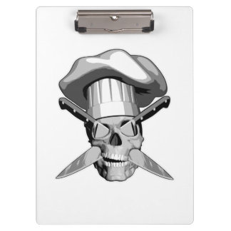 Chef Skull Clipboard