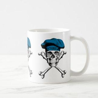 Chef Skull Crossbones: Blue Coffee Mug