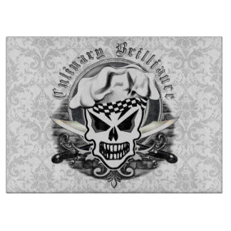 Chef Skull Cutting Board: Culinary Brilliance Cutting Boards
