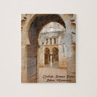 Chellah Ancient Ruins, Morocco Jigsaw Puzzle